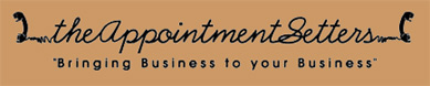 The Appointment Setters Logo - Contact us for your appointment setting and information gathering needs. We provide telemarketing and sales support services.